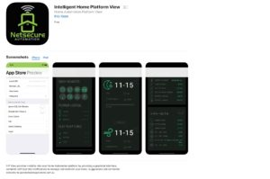 Netsecure Automation's IHP View Apple App
